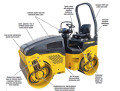 Ride on vibratory roller by A-1 Equipment Rental Center