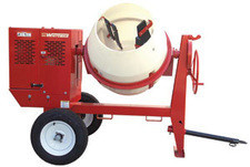 Towable 8CF Concrete Mixer by A-1 Equipment Rental Center