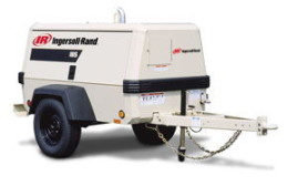 Trailer Mounted Air Compressors Minimum Rental by A-1 Equipment Rental Center