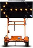 Solar Light Boards for Street Closure