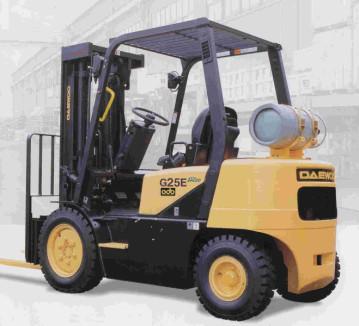 Forklift 15', Propane, 5000 LB