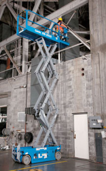 20' Scissor Lift - SLAB NAR- Electric
