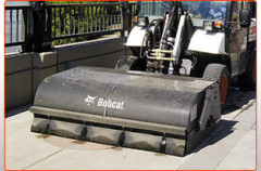 Sweeper Unit Attachment
