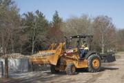 Tractor Skiploader, CASE 570 4wd