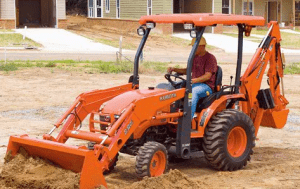 Kubota Diesel Tractor & Attachments